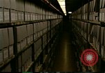 Image of storage shelves Washington DC USA, 1990, second 2 stock footage video 65675075217