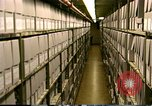 Image of storage shelves Washington DC USA, 1990, second 3 stock footage video 65675075217