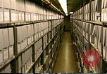 Image of storage shelves Washington DC USA, 1990, second 7 stock footage video 65675075217