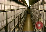 Image of storage shelves Washington DC USA, 1990, second 10 stock footage video 65675075217