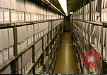 Image of storage shelves Washington DC USA, 1990, second 12 stock footage video 65675075217