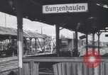 Image of Bunzenhaufen bombed railroad marshaling yard World War 2 Munich Germany, 1945, second 1 stock footage video 65675075221