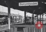 Image of Bunzenhaufen bombed railroad marshaling yard World War 2 Munich Germany, 1945, second 3 stock footage video 65675075221