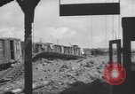Image of Bunzenhaufen bombed railroad marshaling yard World War 2 Munich Germany, 1945, second 5 stock footage video 65675075221