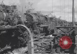 Image of Bunzenhaufen bombed railroad marshaling yard World War 2 Munich Germany, 1945, second 10 stock footage video 65675075221