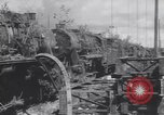 Image of Bunzenhaufen bombed railroad marshaling yard World War 2 Munich Germany, 1945, second 11 stock footage video 65675075221