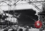 Image of USS Franklin CV-13 Newport News Virginia USA, 1943, second 8 stock footage video 65675075236