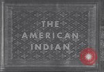 Image of Native American Indian children United States USA, 1933, second 4 stock footage video 65675075290
