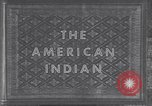 Image of Native American Indian children United States USA, 1933, second 6 stock footage video 65675075290