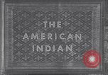 Image of Native American Indian children United States USA, 1933, second 7 stock footage video 65675075290