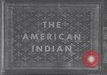 Image of Native American Indian children United States USA, 1933, second 8 stock footage video 65675075290