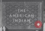 Image of Native American Indian children United States USA, 1933, second 11 stock footage video 65675075290
