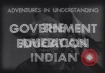 Image of Native American Indian education funding United States USA, 1933, second 9 stock footage video 65675075297