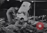 Image of evacuation hospital European Theater, 1945, second 15 stock footage video 65675075318