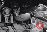 Image of wounded evacuated in C-47 air evacuation airplane Solomon Islands, 1943, second 2 stock footage video 65675075327