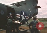Image of T-28D Trojan airplanes Vietnam, 1962, second 11 stock footage video 65675075345