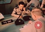 Image of Vietnam Air Force officers Pleiku South Vietnam, 1962, second 9 stock footage video 65675075360