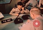 Image of Vietnam Air Force officers Pleiku South Vietnam, 1962, second 12 stock footage video 65675075360