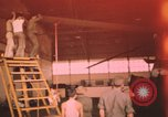 Image of Vietnam Air Force mechanics Vietnam, 1962, second 1 stock footage video 65675075368