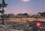 Image of burned-out area Song Mao Vietnam, 1962, second 9 stock footage video 65675075388