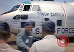 Image of United States Air Force officers Da Nang Vietnam, 1962, second 9 stock footage video 65675075394