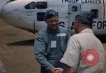 Image of United States Air Force officers Da Nang Vietnam, 1962, second 10 stock footage video 65675075394