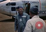 Image of United States Air Force officers Da Nang Vietnam, 1962, second 11 stock footage video 65675075394
