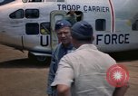 Image of United States Air Force officers Da Nang Vietnam, 1962, second 12 stock footage video 65675075394