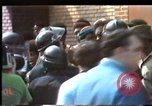 Image of African Americans protest KKK Mobile Alabama USA, 1977, second 4 stock footage video 65675075443