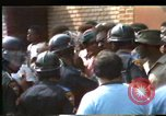 Image of African Americans protest KKK Mobile Alabama USA, 1977, second 5 stock footage video 65675075443