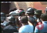Image of African Americans protest KKK Mobile Alabama USA, 1977, second 7 stock footage video 65675075443