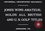 Image of Bobby Jones Ardmore Pennsylvania USA, 1930, second 6 stock footage video 65675075488