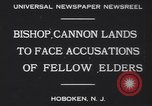 Image of Bishop James Cannon Hoboken New Jersey USA, 1930, second 4 stock footage video 65675075489