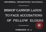 Image of Bishop James Cannon Hoboken New Jersey USA, 1930, second 5 stock footage video 65675075489