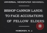 Image of Bishop James Cannon Hoboken New Jersey USA, 1930, second 7 stock footage video 65675075489