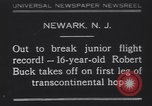 Image of Robert Buck Newark New Jersey USA, 1930, second 1 stock footage video 65675075492