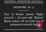 Image of Robert Buck Newark New Jersey USA, 1930, second 7 stock footage video 65675075492