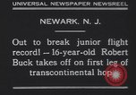 Image of Robert Buck Newark New Jersey USA, 1930, second 9 stock footage video 65675075492