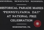 Image of parade Washington Pennsylvania USA, 1930, second 5 stock footage video 65675075498