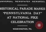 Image of parade Washington Pennsylvania USA, 1930, second 12 stock footage video 65675075498