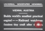 Image of smallest engine Vienna Austria, 1931, second 1 stock footage video 65675075502