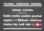 Image of smallest engine Vienna Austria, 1931, second 2 stock footage video 65675075502