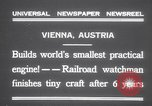 Image of smallest engine Vienna Austria, 1931, second 4 stock footage video 65675075502