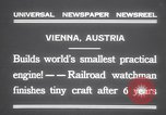 Image of smallest engine Vienna Austria, 1931, second 5 stock footage video 65675075502