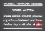 Image of smallest engine Vienna Austria, 1931, second 10 stock footage video 65675075502