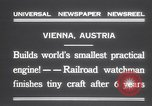 Image of smallest engine Vienna Austria, 1931, second 12 stock footage video 65675075502