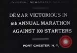 Image of Clarence DeMar Port Chester New York USA, 1930, second 1 stock footage video 65675075509