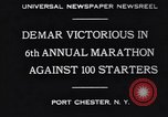Image of Clarence DeMar Port Chester New York USA, 1930, second 8 stock footage video 65675075509