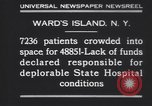 Image of patients Wards Island New York USA, 1930, second 5 stock footage video 65675075510