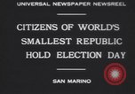 Image of marching troops Republic of San Marino, 1930, second 2 stock footage video 65675075514